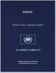 by GIOSUE CARDUCCI - World eBook Library