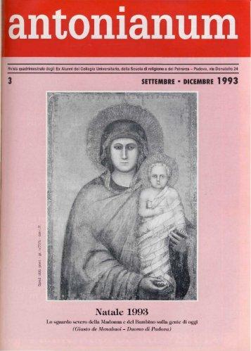 Settembre-Dicembre - Ex-Alunni dell'Antonianum