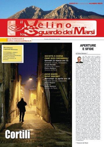 Il Velino, lo Sguardo dei Marsi Anno IV, numero 62/5 del 15 marzo ...