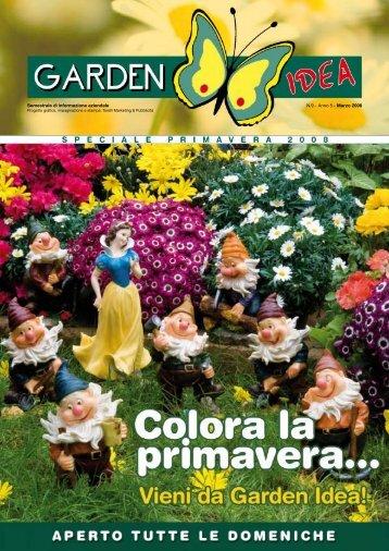 Semestrale di informazione aziendale N.9 - Anno 5 ... - Garden idea