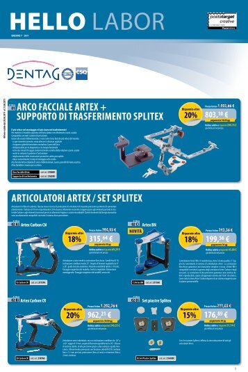 articOlatOre Virtuale - Dentag Italia