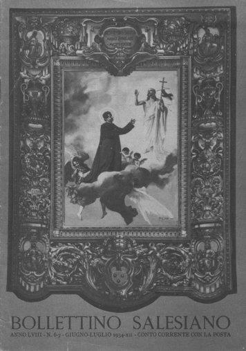 Bollettino Salesiano - giugno/luglio 1934 - il bollettino salesiano