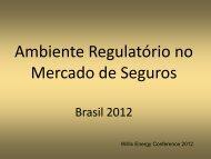 Ambiente Regulatório no Mercado de Seguros - Willis