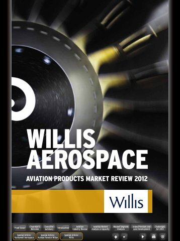 Willis Aerospace Aviation Products Market Review 2012