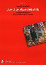 Libertà politica e virtù civile - Fondazione Giovanni Agnelli