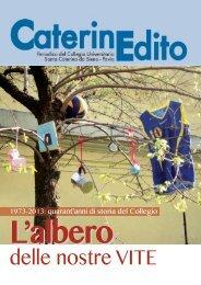 Caterinedito 2012-2013 - Collegio Universitario Santa Caterina da ...