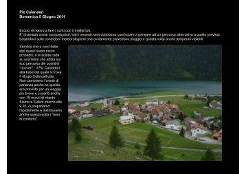relazione finale alternativa - CAI Sezione di Varese