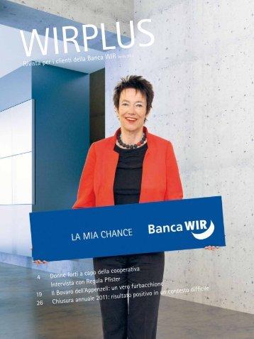 Aprile 2012 - WIR Bank