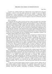 Educazione e bene comune: un'armonia da ritrovare Luigi Alici È ...
