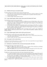 Regolamento pesca 2013 - Ormea
