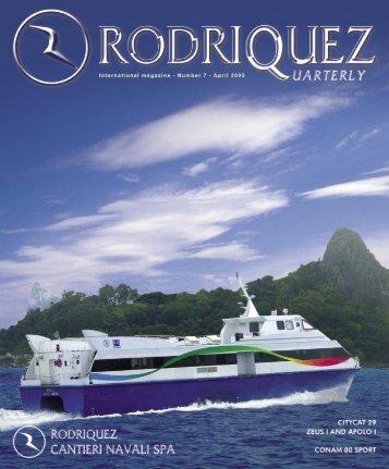 Editoriale - RODRIQUEZ - Cantieri navali