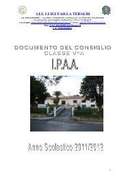 documento 15 maggio va ipaa 2012
