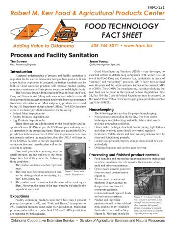 process and facility sanitation An effective cleaning and sanitation training procedure ensures personnel understand the appropriate procedures to follow to help you build training procedures for your facility, use this checklist in conjunction with the sample sanitation training procedure documents provided at the end of this section.