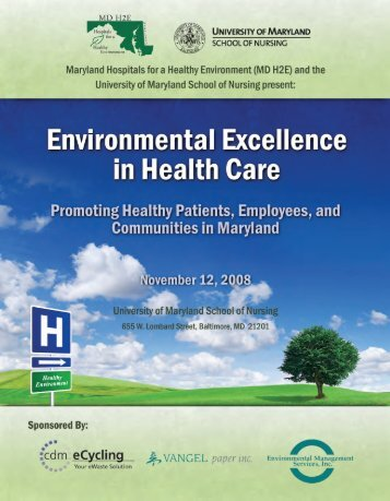 Maryland Hospitals for a Healthy Environment - Ann Bevans Collective