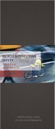 Bicycle and Pedestrian Safety - NCTCOG.org