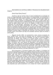 MECANISMOS DE CONTROLE SOBRE O ... - EMPREENDE