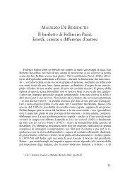 Il bariletto di Fellini in Paisà. Esordi, carezze e differenze d'autore