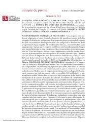 140405 JUEVES.indd - Fondo de Cultura Económica