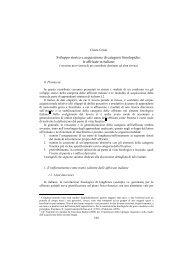 Sviluppo storico e acquisizione di categorie fonologiche - Linguistica