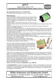 """Ein """"Mini"""" ist (k)eine Krücke – KW-Antenne nach G4MH im Test - WiMo"""