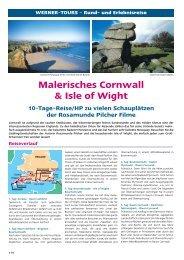 Malerisches Cornwall & Isle of Wight - Werner Tours