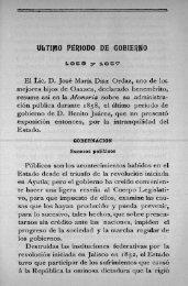 Último periodo de Gobierno - Bicentenario