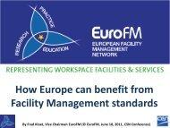 Facilities management - CEN