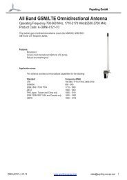 All Band GSM/LTE Omnidirectional Antenna