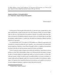 CONSERVADORES RADICALES Y SINDICATOS - Historia Política