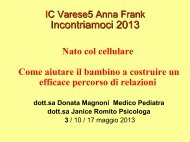 IC5 Varese Anna Frank Incontriamoci 2013