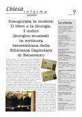 Chiesa Informa Ultimo numero di Chiesa Informa - Arcidiocesi di ... - Page 7