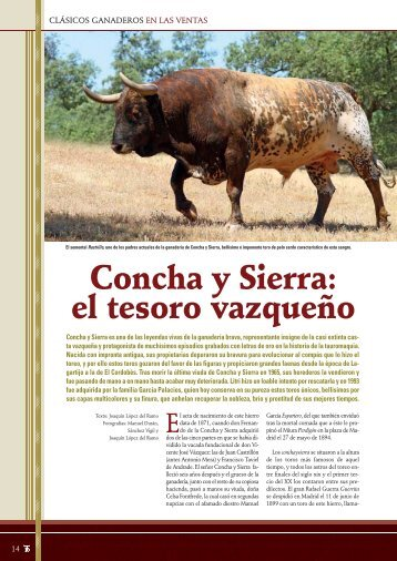 Lea el artículo de Joaquín López del Ramo completo. - Las Ventas
