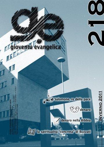 gioventù evangelica - Chiesa Battista di Cagliari