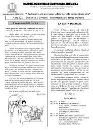 Foglio settimana 9 ottobre 2011.pub - Parrocchia San Bartolomeo ...