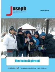 Una festa di giovani - Oblati di San Giuseppe