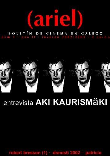 entrevista AKI KAURISMäKI - Cineclube de Compostela