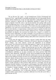 passioni - Facoltà di Lettere e Filosofia
