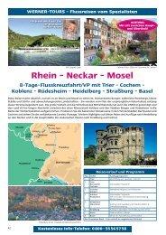 Rhein - Neckar - Mosel - Werner Tours