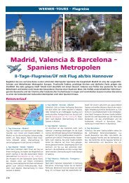 Madrid, Valencia & Barcelona - Spaniens Metropolen - Werner Tours