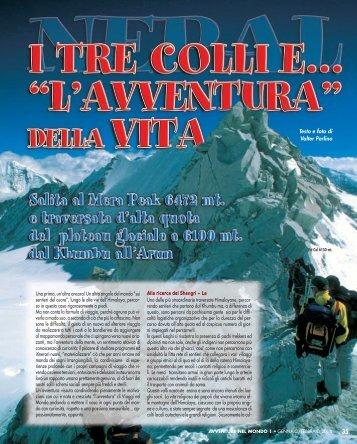 Nepal. I tre colli e... l'avventura della vita - Viaggi Avventure nel mondo