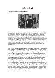 Jornadas asturianas de Mijaíl Koltsov - Telefonica.net