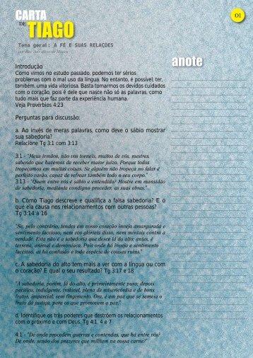 7º – A FÉ E SUAS RELAÇÕES p.7