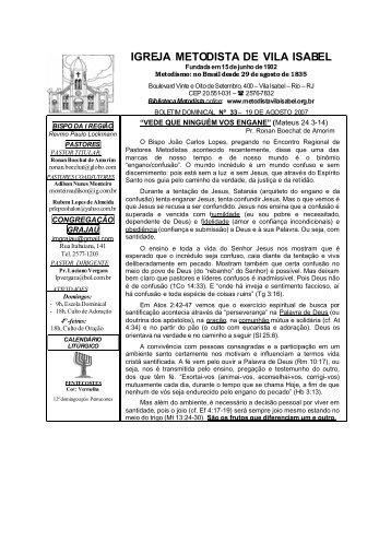 IGREJA METODISTA DE VILA ISABEL