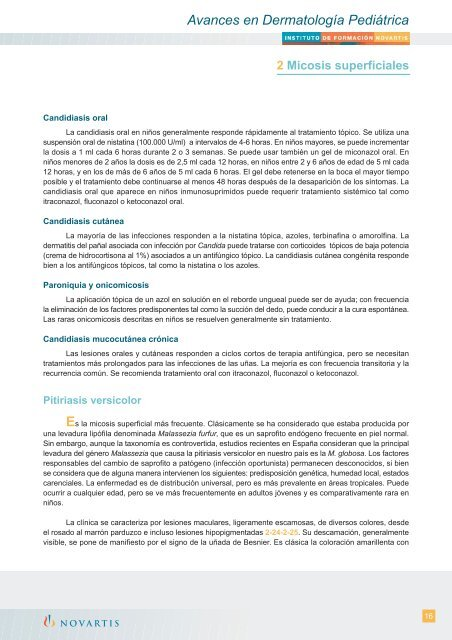 Tratamiento candidiasis oral fluconazol