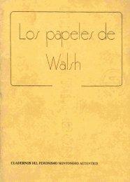 Los papeles de Walsh - Ruinas Digitales