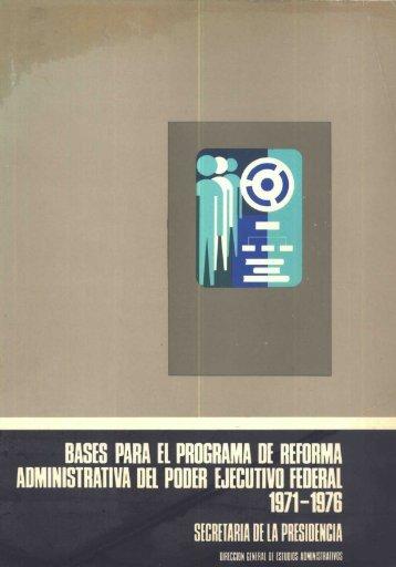 HISIS PARA Il PROGRAIA - Instituto Nacional de Administración ...