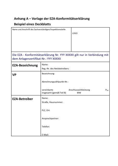 Muster Konformitaetsbescheinigung Konformitatserklarung 14