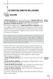Le fontI deL dIrItto deL Lavoro - La Tribuna
