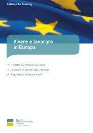 Vivere e lavorare in Europa - Consolato Generale d'Italia a Colonia