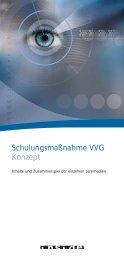Schulungsmaßnahme VVG Konzept - inside Unternehmensgruppe